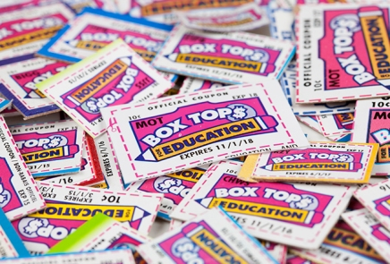 Box Tops for Education Loyalty Program Coupons